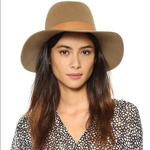 Janessa Leon Clay leather banded hat